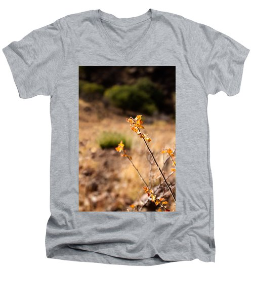 New Growth Men's V-Neck T-Shirt