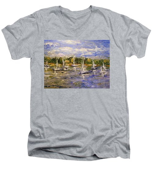Newport Views Men's V-Neck T-Shirt