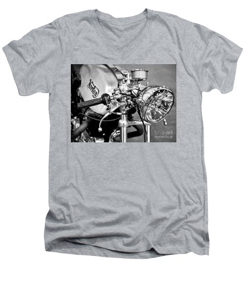 Norton Dominator Men's V-Neck T-Shirt by Ari Salmela