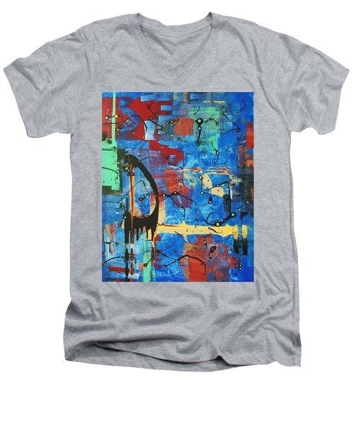 Norval Morrisseau On My Mind Men's V-Neck T-Shirt