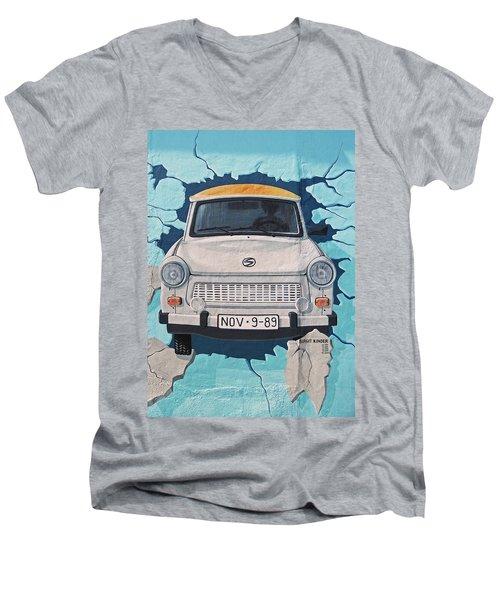 Nov-09-1989 Men's V-Neck T-Shirt