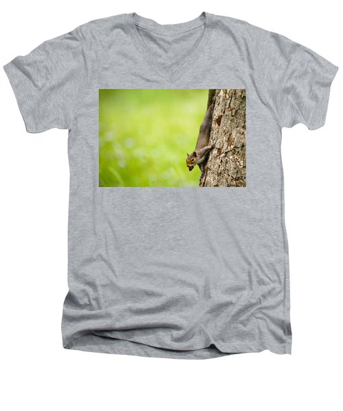 Nut Job Men's V-Neck T-Shirt