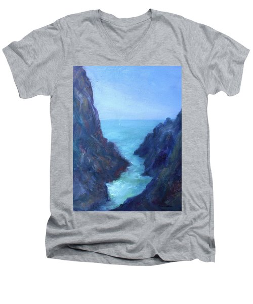 Ocean Chasm Men's V-Neck T-Shirt