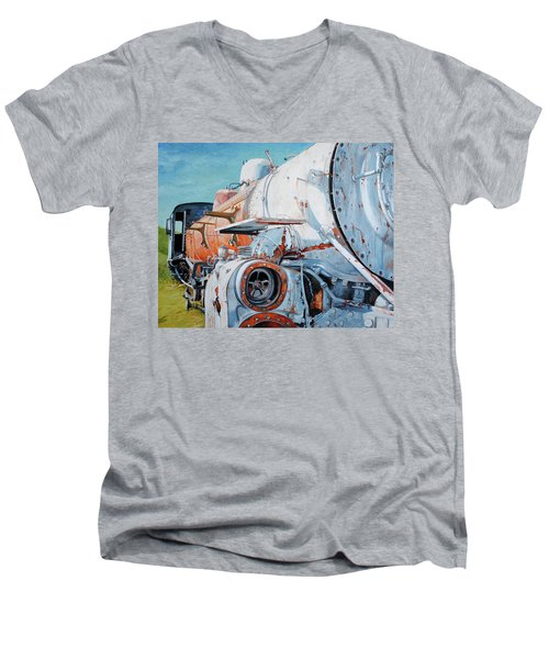 Off Track Men's V-Neck T-Shirt