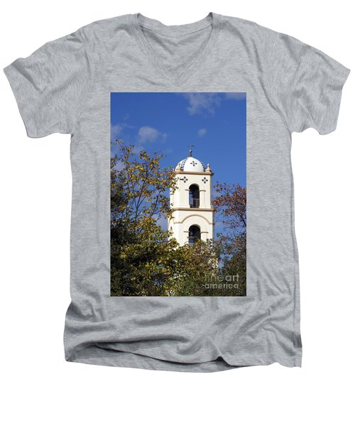 Ojai Tower Men's V-Neck T-Shirt