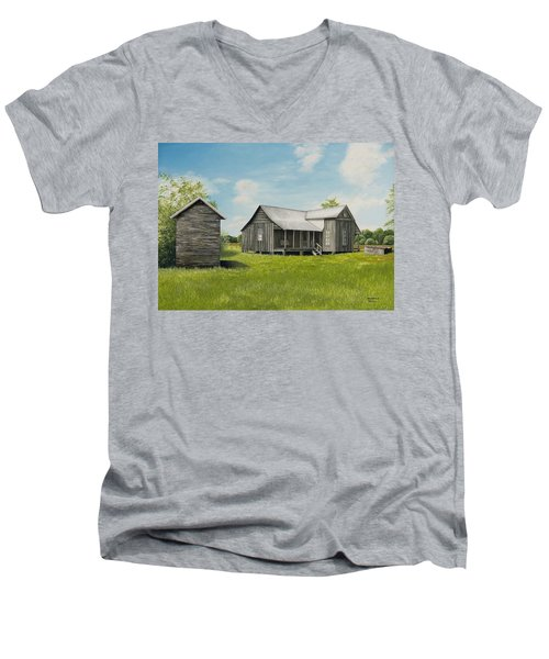 Old Clark Home Men's V-Neck T-Shirt