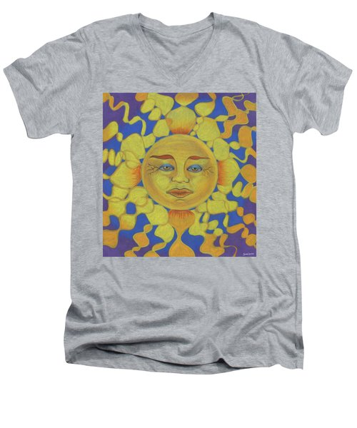 Old Man Sun Men's V-Neck T-Shirt