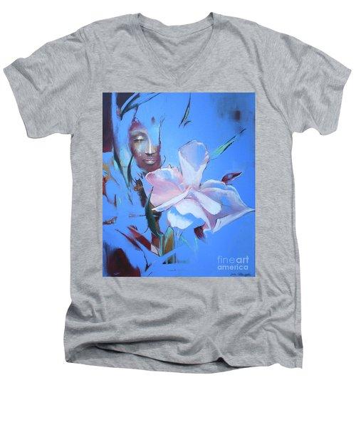 Oleandera Men's V-Neck T-Shirt