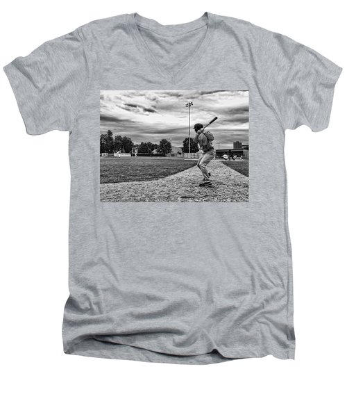 On Deck Men's V-Neck T-Shirt by Tom Gort
