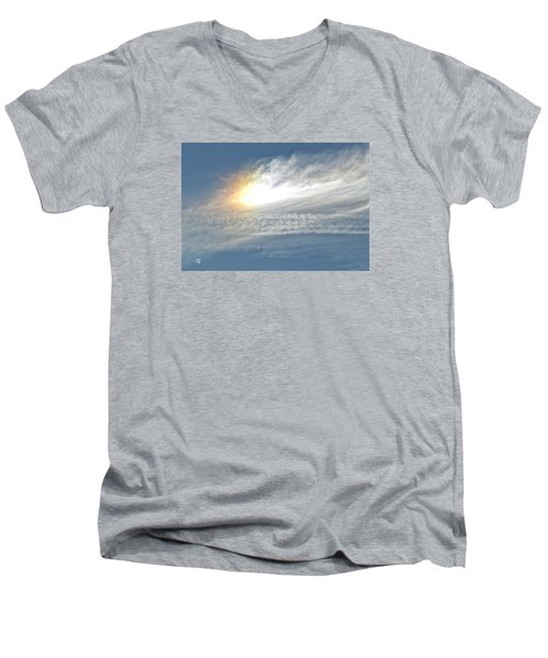 On High Men's V-Neck T-Shirt