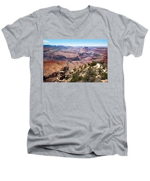 On The Rim Men's V-Neck T-Shirt