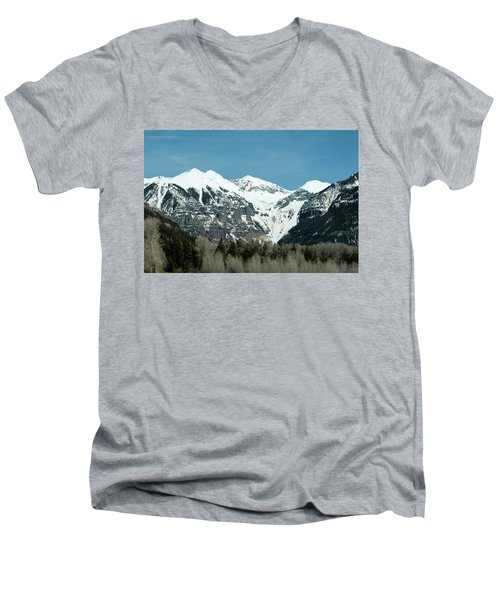 On The Road To Telluride Men's V-Neck T-Shirt