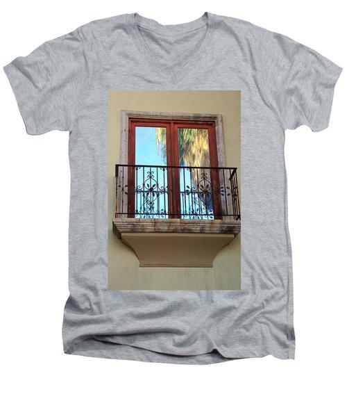 Outer Reflection Men's V-Neck T-Shirt