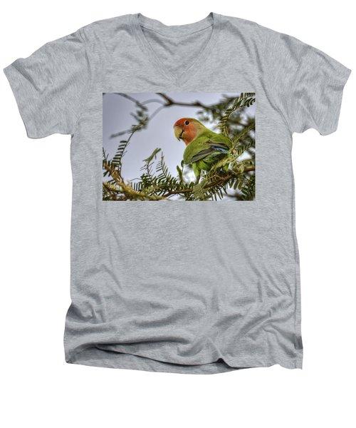 Over My Shoulder  Men's V-Neck T-Shirt