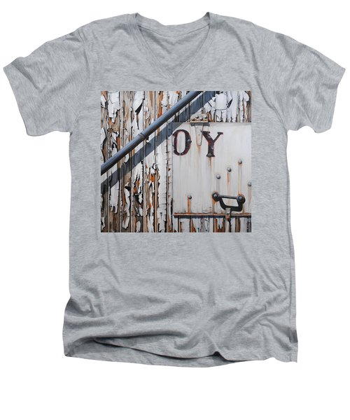 ...oy Men's V-Neck T-Shirt
