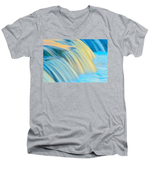 Painted Falls Men's V-Neck T-Shirt