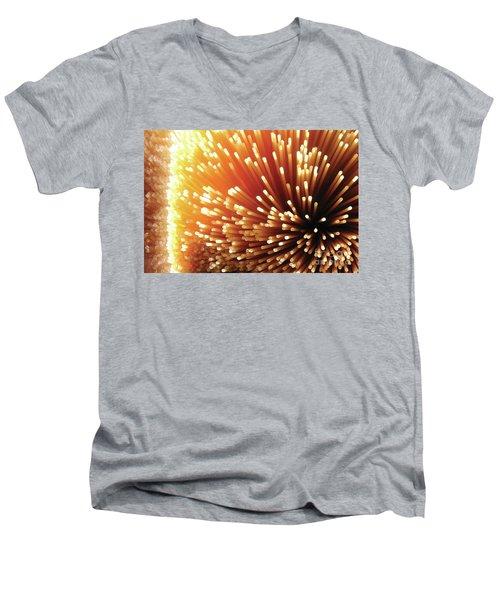 Pasta Illumination Men's V-Neck T-Shirt