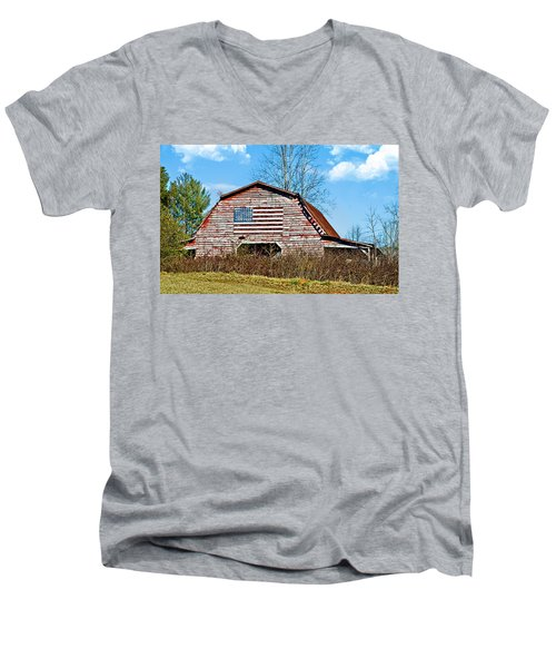 Patriotic Barn Men's V-Neck T-Shirt