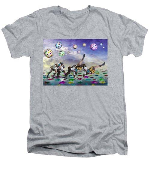 Perfect Coupling Men's V-Neck T-Shirt