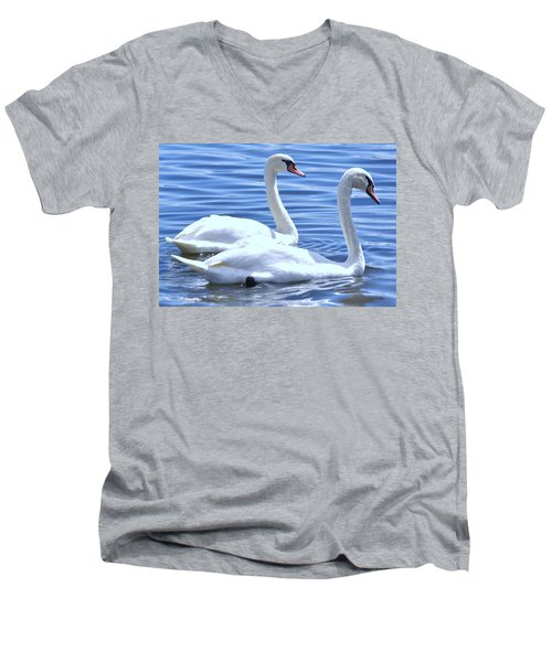 Swan Song Men's V-Neck T-Shirt