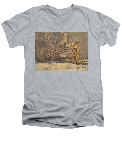 Perseverance Men's V-Neck T-Shirt