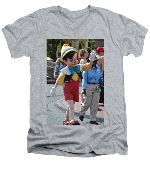 Pinocchio Men's V-Neck T-Shirt