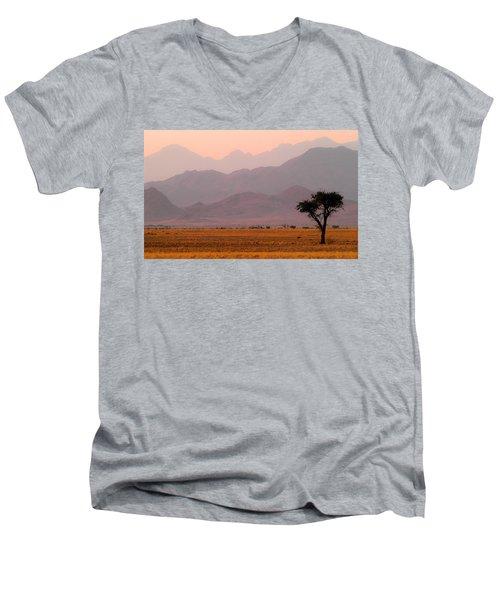 Plain Tree Men's V-Neck T-Shirt