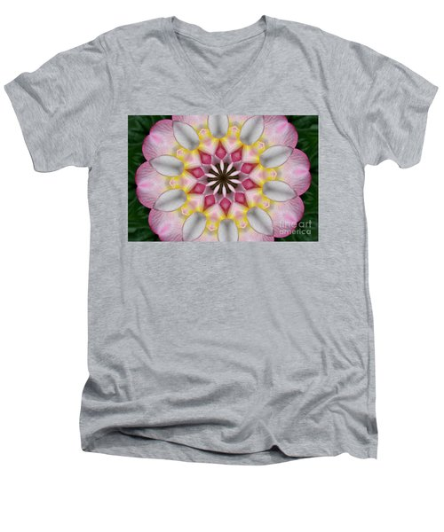Plumeria 3 Men's V-Neck T-Shirt