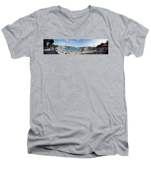 Porto Cristo Beach Men's V-Neck T-Shirt