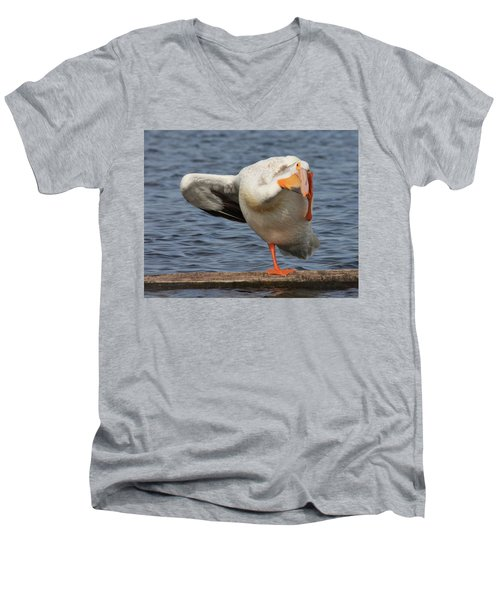 Poser Men's V-Neck T-Shirt