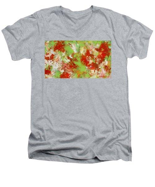 Potted Flowers Men's V-Neck T-Shirt
