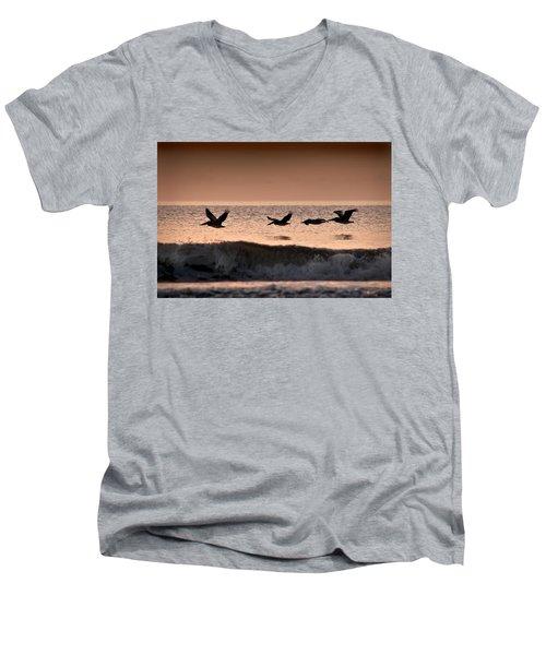 Predawn Formation Men's V-Neck T-Shirt