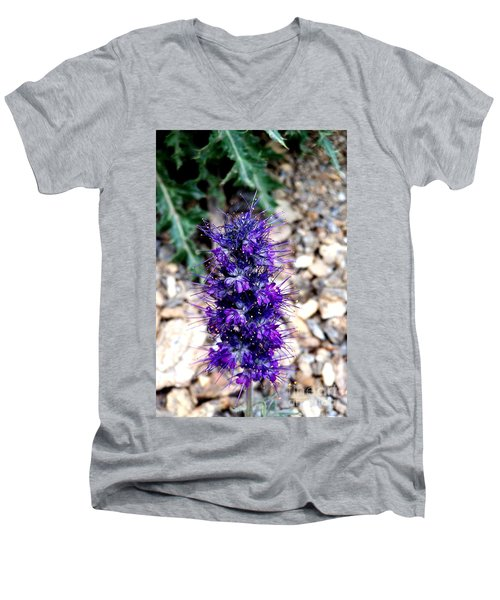 Purple Reign Men's V-Neck T-Shirt