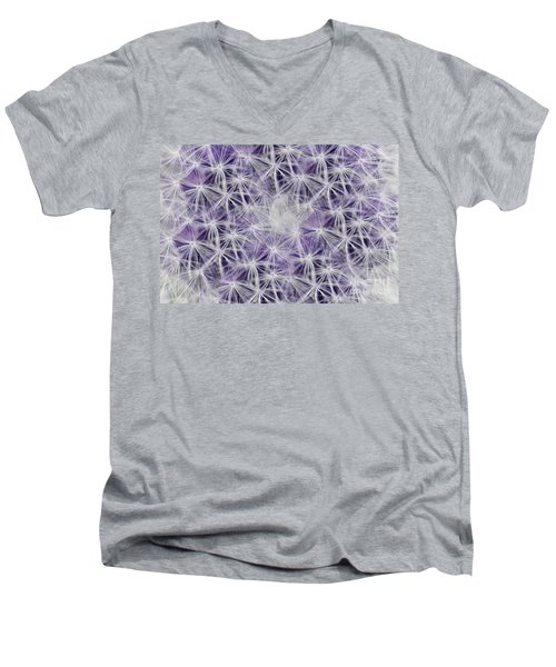 Purple Wishes Men's V-Neck T-Shirt