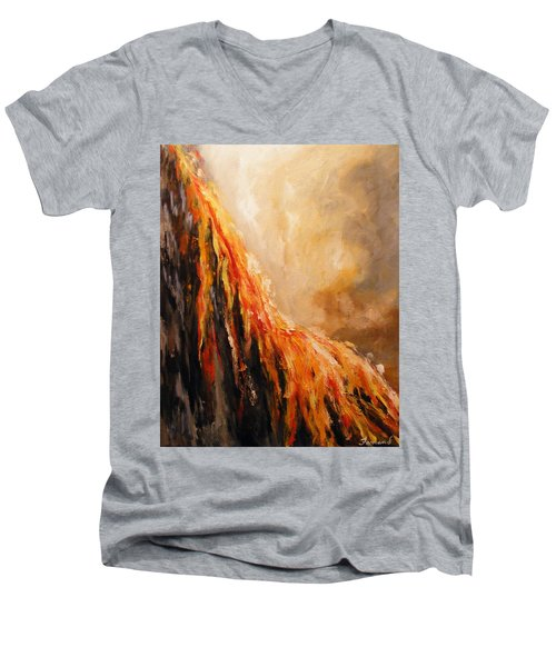 Quite Eruption Men's V-Neck T-Shirt