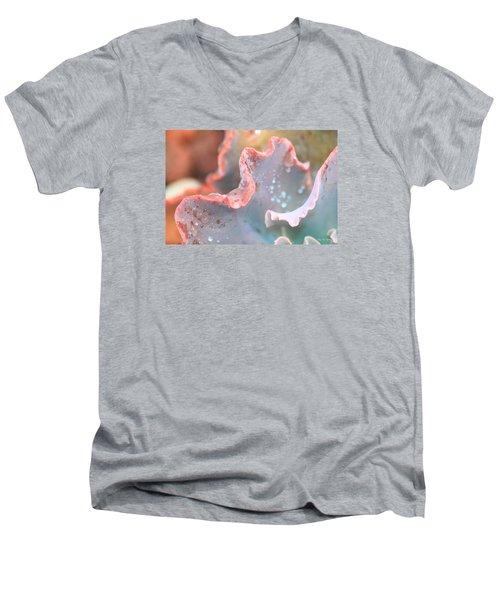 Rain Drops Of Colors Men's V-Neck T-Shirt
