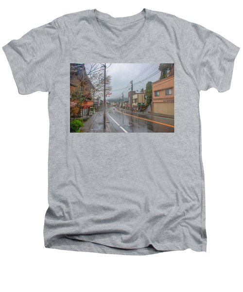 Rainy Day Nikko Men's V-Neck T-Shirt