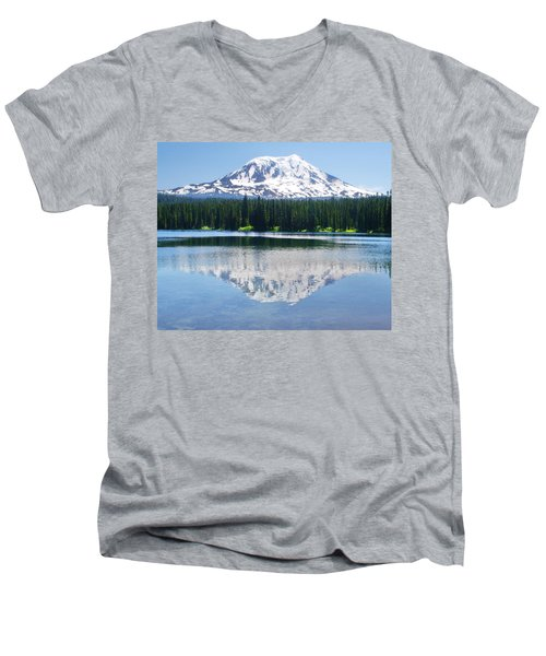 Reflection Of Adams Men's V-Neck T-Shirt