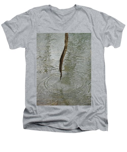 Men's V-Neck T-Shirt featuring the photograph Ripples by Tiffany Erdman