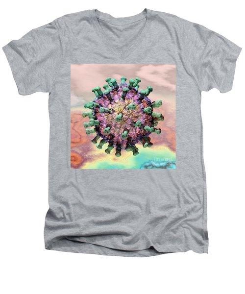 Rotavirus 2 Men's V-Neck T-Shirt