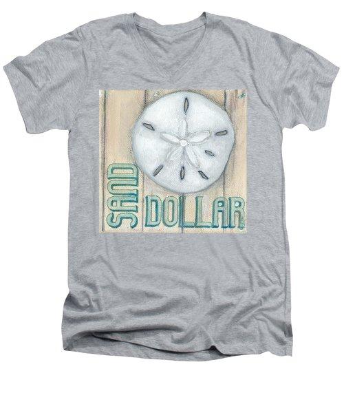 Sand Dollar Men's V-Neck T-Shirt