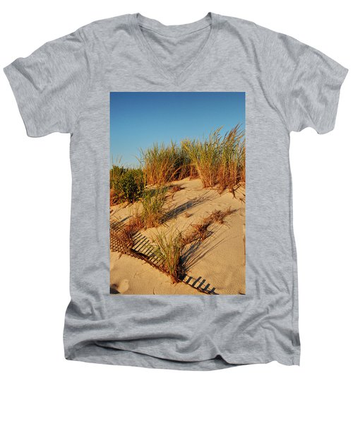 Sand Dune II - Jersey Shore Men's V-Neck T-Shirt