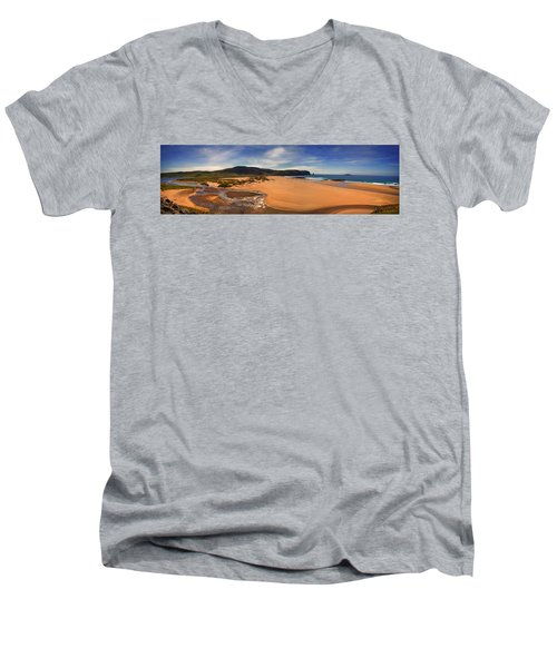 Sandwood Bay Men's V-Neck T-Shirt