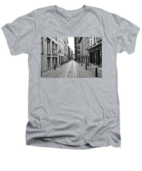 Men's V-Neck T-Shirt featuring the photograph Sault-au-matelot by Eunice Gibb