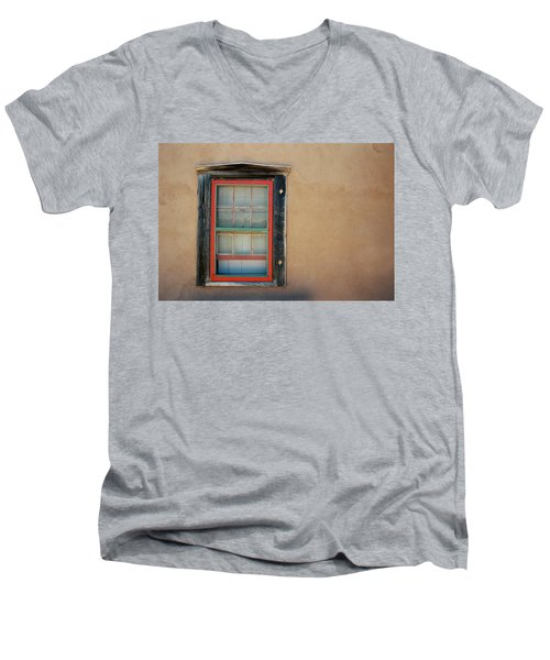 School House Window Men's V-Neck T-Shirt