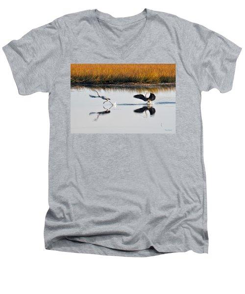 Scram Men's V-Neck T-Shirt