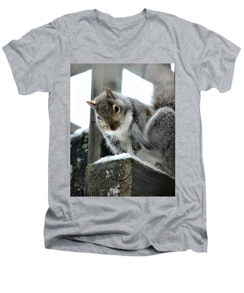 Scratching An Itch Men's V-Neck T-Shirt by Rory Sagner
