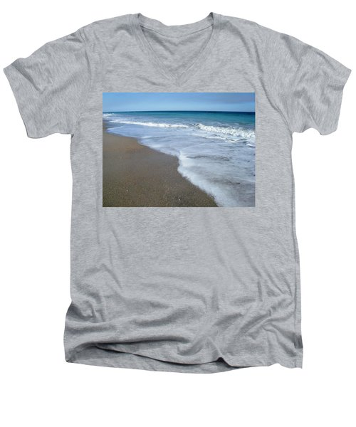 Seascape Wrightsville Beach Nc  Men's V-Neck T-Shirt