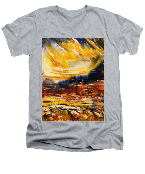 Sedona Sky Men's V-Neck T-Shirt