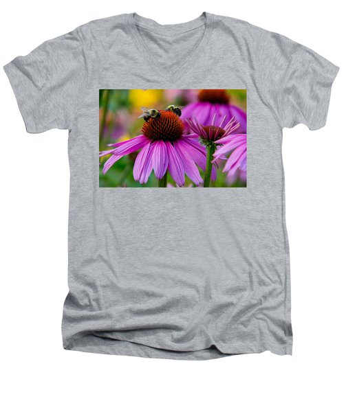 Sharing Men's V-Neck T-Shirt